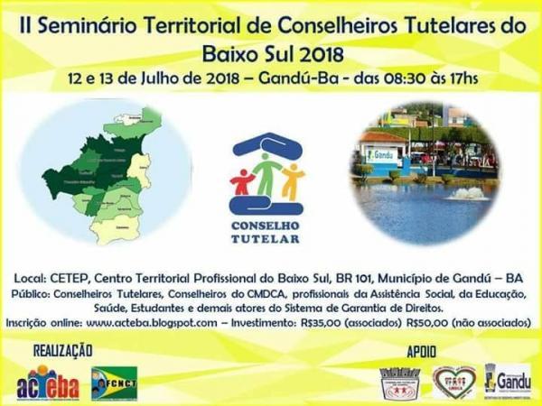 ll Seminário territorial de Conselhos Tutelares do Baixo Sul
