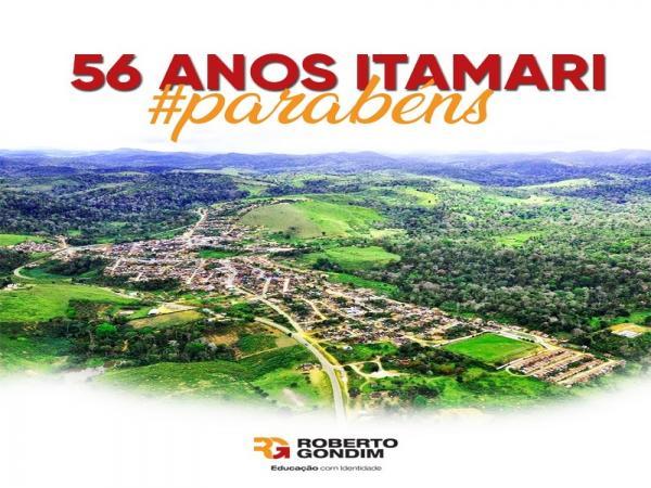 56 anos de Itamari, parabéns.