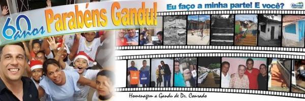 Homenagem a Gandu de Dr. Conrado