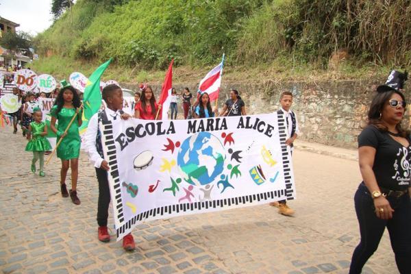 Wenceslau Guimarães:  melhores momentos do Desfile Cívico de 7 de Setembro.