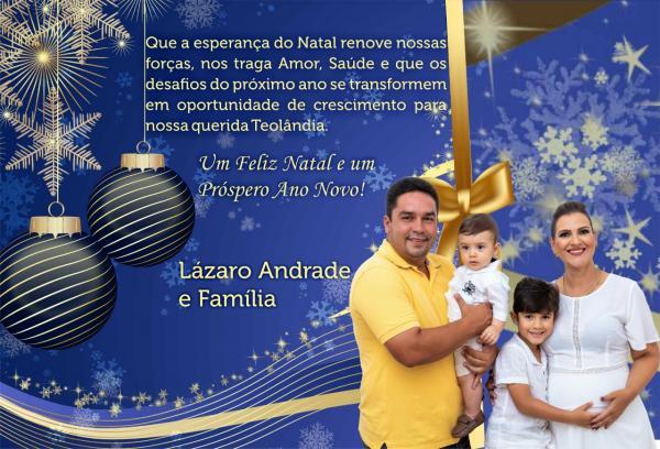 Confira as mensagens de Natal de Amigos e Leitores do Sulbahia1