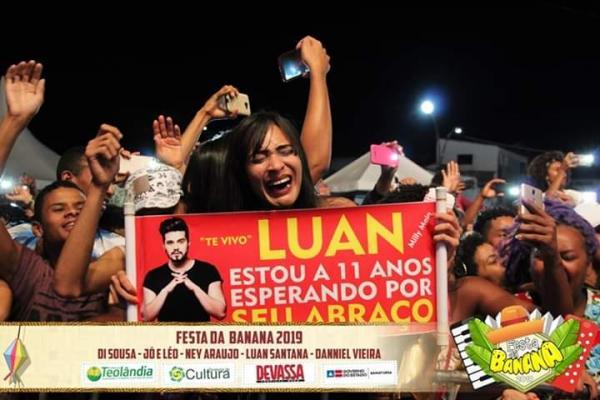 Festa da Banana 2019 - Luan Santana