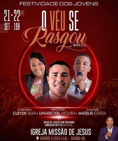 Festividade dos Jovens - Igreja Missão de Jesus