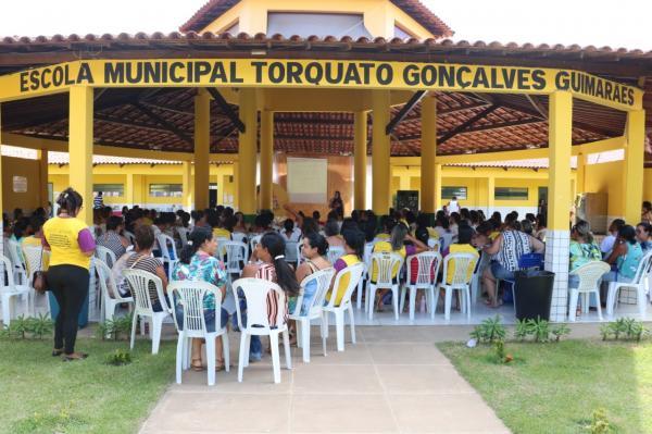 Jornada Pedagógica de Teolândia foi sucesso e ano letivo inicia com alto nível de motivação.