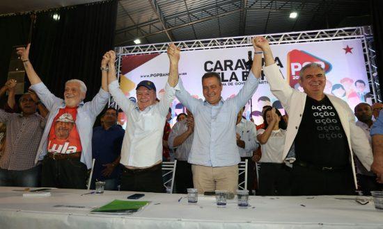 Convenção oficializa candidatura de Rui Costa ao Governo da Bahia