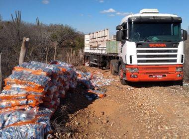 Caminhão roubado com 3 toneladas de leite em pó é recuperado na BR-116