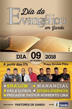 Comissão de Pastores Ganduenses promove pelo segundo ano, o dia do evangélico.