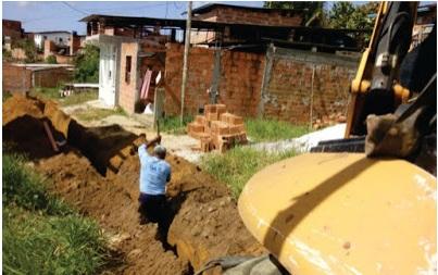 Valença: SAAE amplia rede de água no Lotemento Glicério Tavares