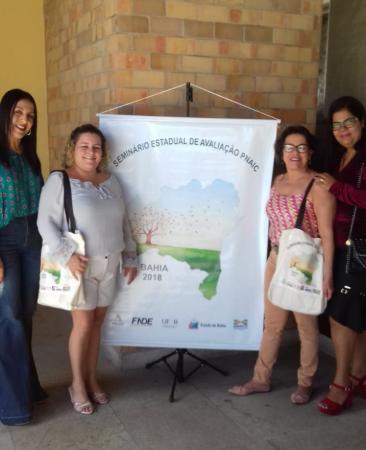 Equipe do PactoPnaic de Teolândia participa de Seminário de Avaliação em Salvador