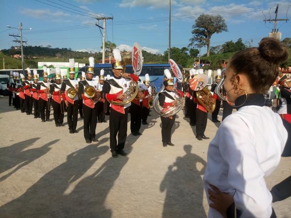 Concurso de Fanfarras é realizado em Gandu com sucesso