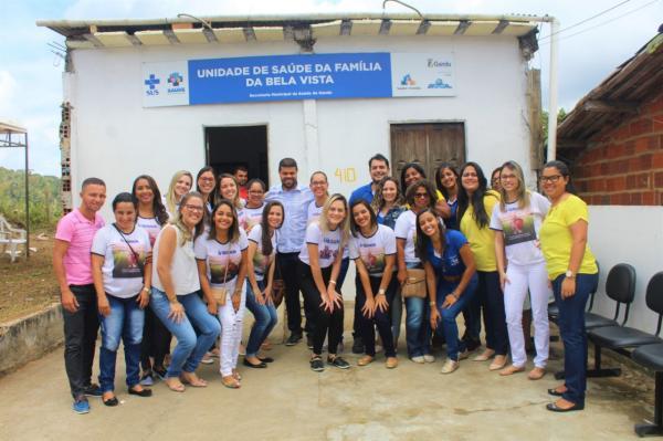 Prefeitura de Gandu e Secretaria Municipal da Saúde realizam mutirão de saúde no Bairro Bela Vista.
