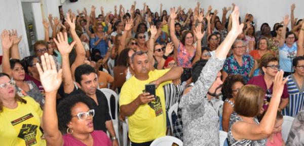 No seu 23º dia, professores mantém greve em Itabuna.