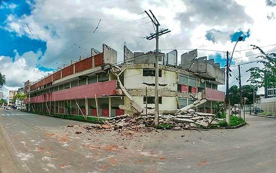 Perícia aponta necessidade de demolição de prédio que abrigaria shopping em Itabuna