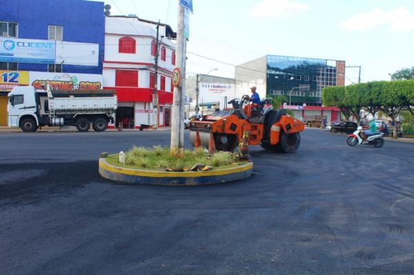 Prefeitura não para de trabalhar e município se transforma em Canteiro de Obras