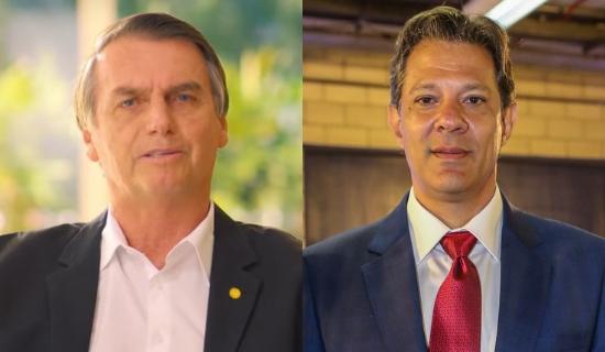 Eleições 2018: segundo turno entre Bolsonaro e Haddad
