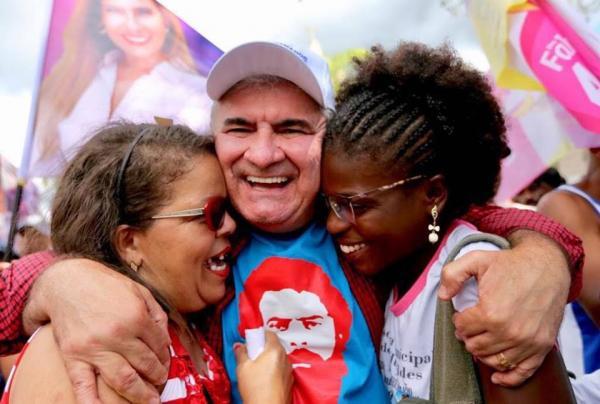 """Coronel agradece vitória ao povo baiano e ao  """"Time da Correria""""."""
