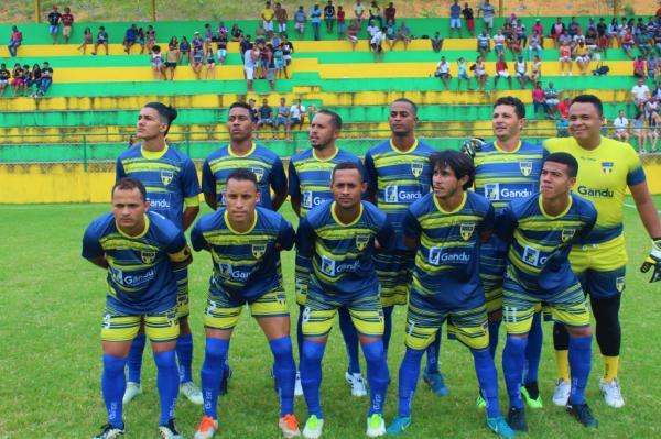 Seleção ganduense de futebol empata na estreia contra os donos da casa, no Campeonato Regional de Teolândia.