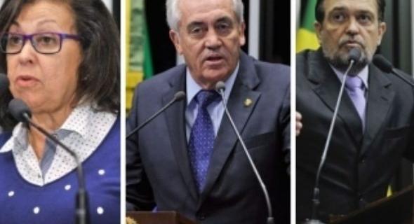 Otto e Pinheiro votam a favor e Lidice contra aumento de ministros