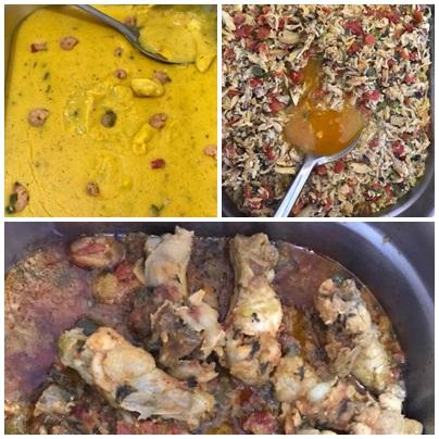 Sexta-feira e dia da deliciosa comida baiana no Canto do lazer 2.