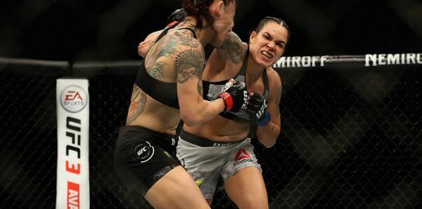 Baiana Amanda Nunes bate Cyborg e é primeira mulher a ser campeã dupla no UFC