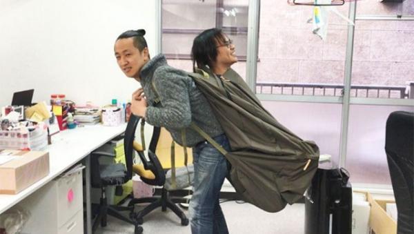 Inspirada nas mochilas de Jequié, empresa Japonesa cria mochila gigante