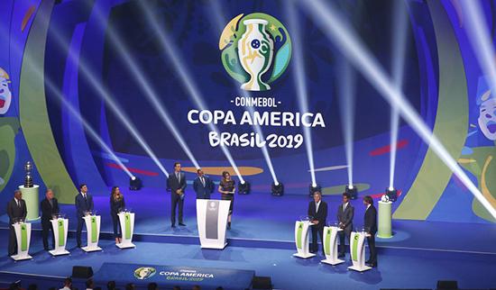 Brasil enfrenta Bolívia, Venezuela e Peru na primeira fase da Copa América