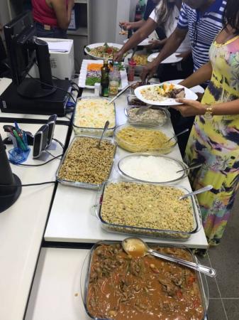 Toda sexta-feira a deliciosa comida baiana no Canto do lazer 2.