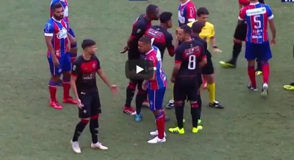 Bahia e Vitória ficam no empate