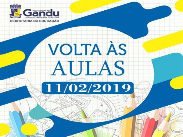 Gandu | Secretaria de Educação divulga data para Volta às Aulas