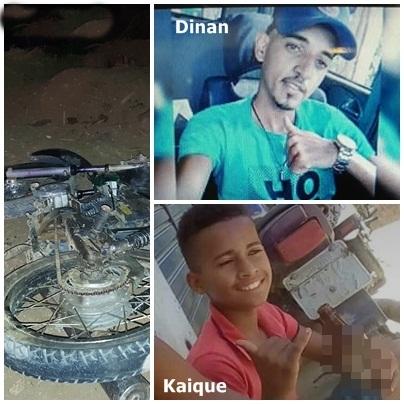 Dois adolescentes  morreram em acidente com moto na BR 101 em Corte de Pedra