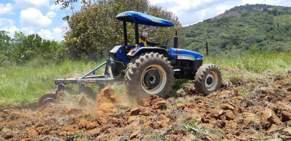 Secretaria de Agricultura segue trabalhando com a mecanização rural e acompanhamento técnico do programa Mais ATER.