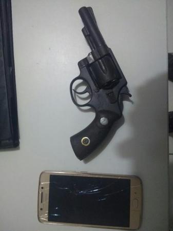 Policia Militar tira mais uma arma de fogo de circulação