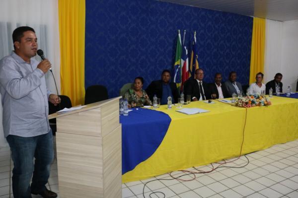 Teolândia: Prefeito Lázaro Andrade participa da abertura de trabalhos da Câmara Municipal