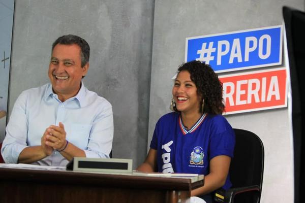 Estudante da rede estadual vivenciará a rotina de  governar o Estado na sexta-feira a convite de Rui Costa