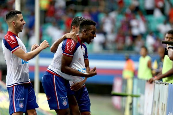 Bahia vence o Atlético de Alagoinhas