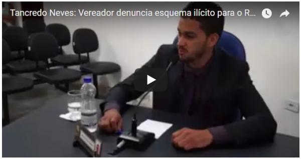 Concurso REDA em Tancredo Neves, Vereador faz graves denúncias.
