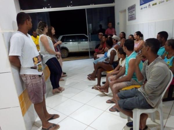 Teolândia: Unidade de Saúde da Família do São Paulinho realiza segundo atendimento noturno.