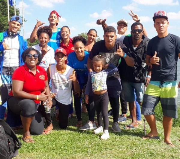 Canoístas de Ubaitaba conquistam 17 medalhas na Copa Brasil