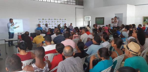 Teolândia: Prefeitura e Secretaria de Agricultura promovem encontro com o Banco do Nordeste