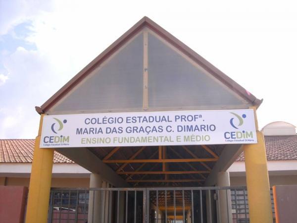 Três adolescentes mascarados invadiram uma escola estadual no Paraná
