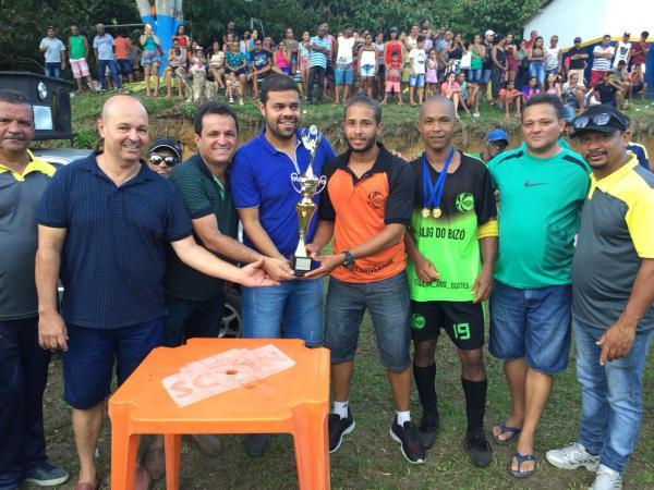 Monte Alegre: Vereador participa de final de campeonato