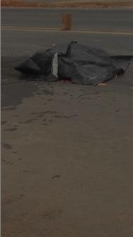 Em suposta tentativa de roubo, homem morre atropelado na BR 101.