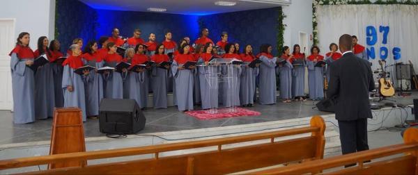 Primeira Igreja Batista em Gandu comemorou 97 anos.