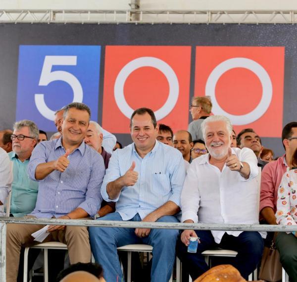 """Nelson Leal exalta capacidade de trabalho do governador  Rui Costa em """"Viagem 500"""", hoje, em Morro do Chapéu"""