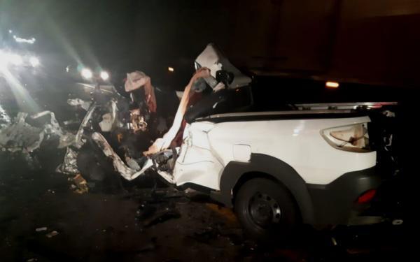 Tragédia: homem morre em batida frontal na BR-116
