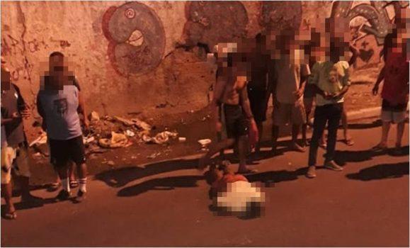 Homem morre linchado pela população pós assaltar estudante