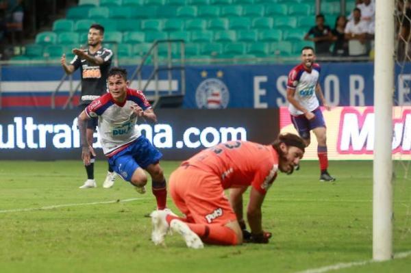 Bahia vence o Corinthians na estréia do campeonato brasileiro
