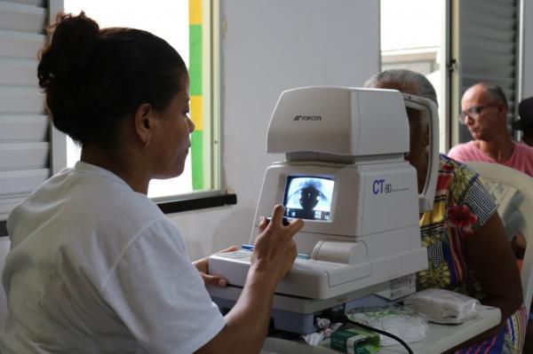 Teolândia: Secretaria de Saúde atende mais de 250 pacientes no Mutirão de Glaucoma e Catarata