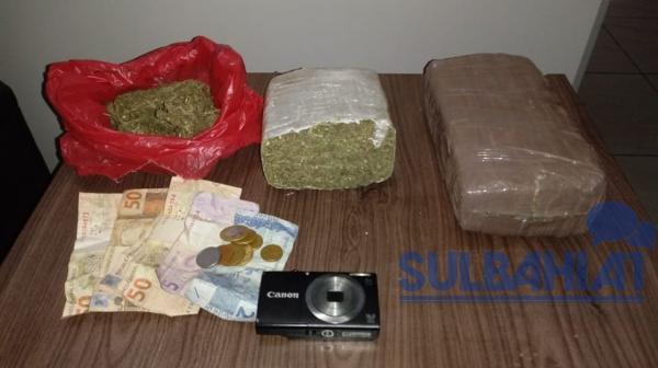 Operação Corujão: Jovem é presa por tráfico de drogas em Gandu