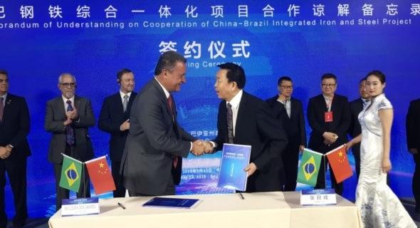 Governo assina memorando com empresa chinesa para investimento de U$ 7 bi na Bahia